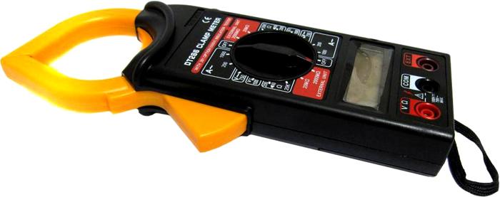 Модель в виде клещей. Позволяет измерить ток без использования щупов
