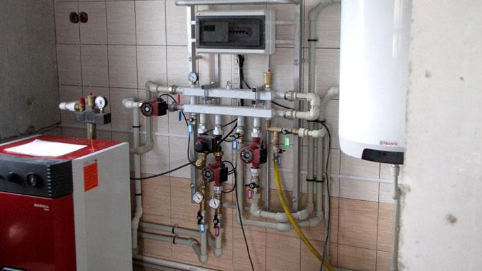 Термостат в системе с котлом АОГВ