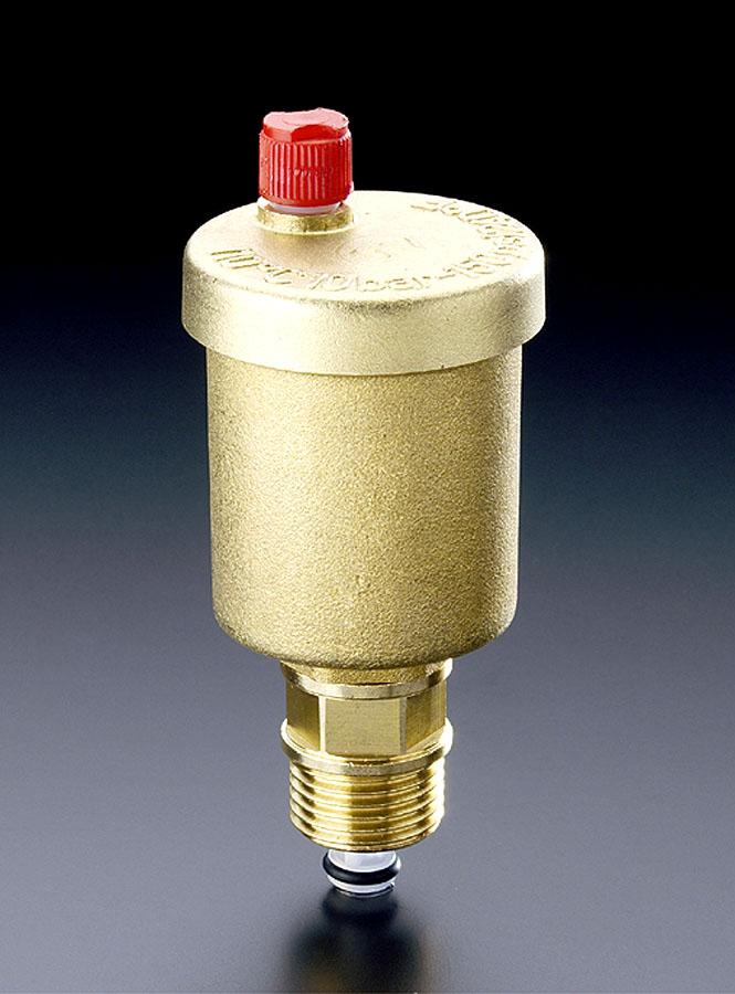 Автоматический отводчик воздуха может не выполнять свои функции полноценно с применением незамерзающих смесей