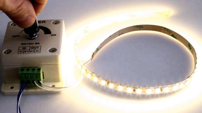 Специализированное устройство, диммер, применяется для регулировки уровня света
