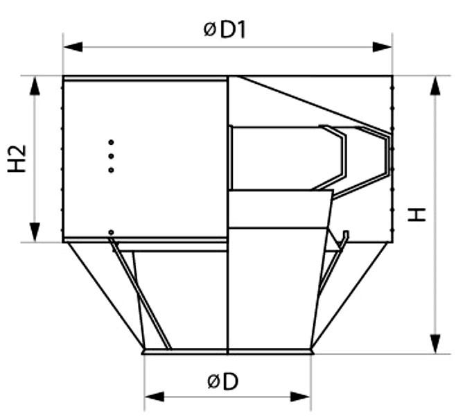 Как сделать колпак на трубу дымохода своими рукамис применением чертежейдефлектора ЦАГИ