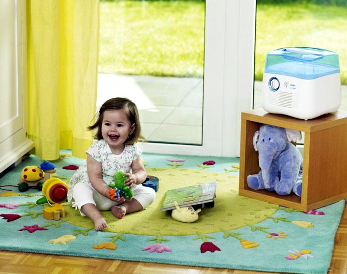 Испаритель влаги поможет укрепить иммунитет ребёнка