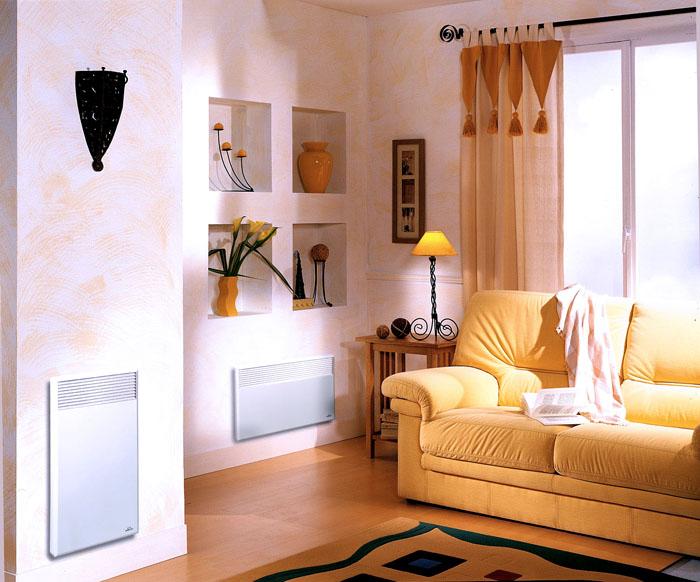Монтируются такие отопители обычно на стены и выглядят как лёгкие плоские панели, отлично вписывающиеся в любой интерьер