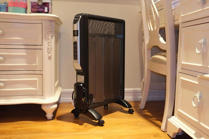 Масляный радиатор можно поставить в любом месте
