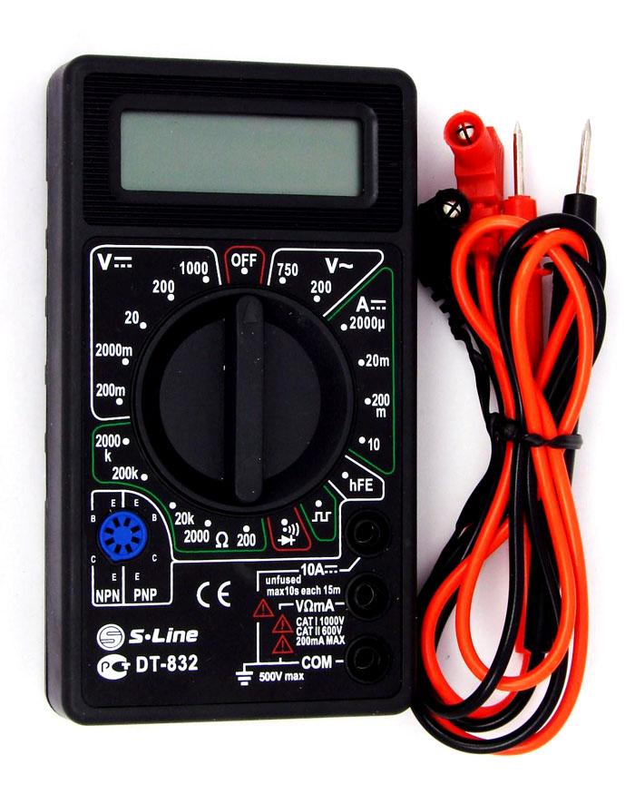 Модель dt832 отличается простой незамысловатой конструкцией