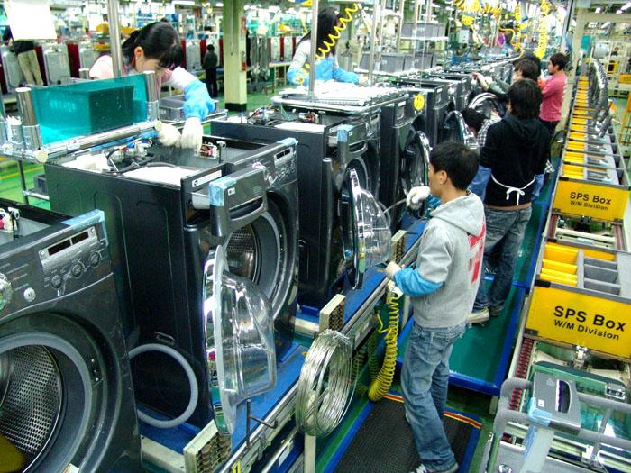 Стиральные машины Samsung собирают не только в Южной Корее, но и в Калужской области
