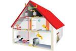Схема отопления с принудительной циркуляцией двухэтажного дома.