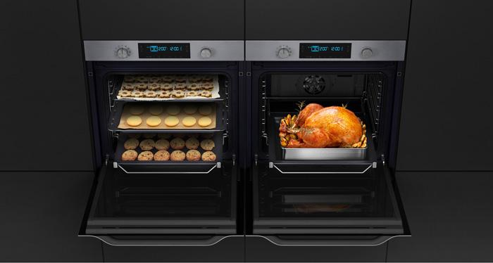 Объёмный шкаф двумя камерами одновременно приготовит несколько блюд