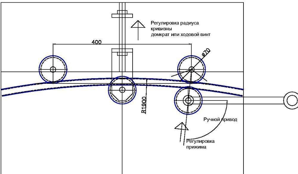 Схема ручного устройства