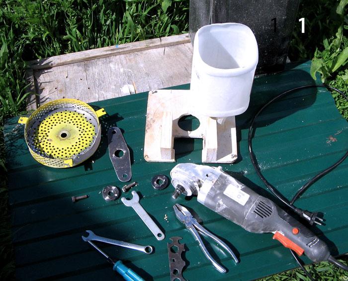 Инструменты, которые потребуются для создания шредера своими руками
