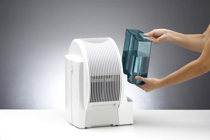 Устройство для увлажнения воздуха необходимо регулярно мыть