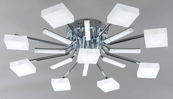Потолочные светодиодные люстры для дома