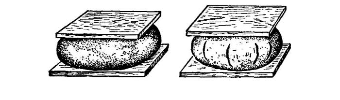 Процесс определения жирности глины