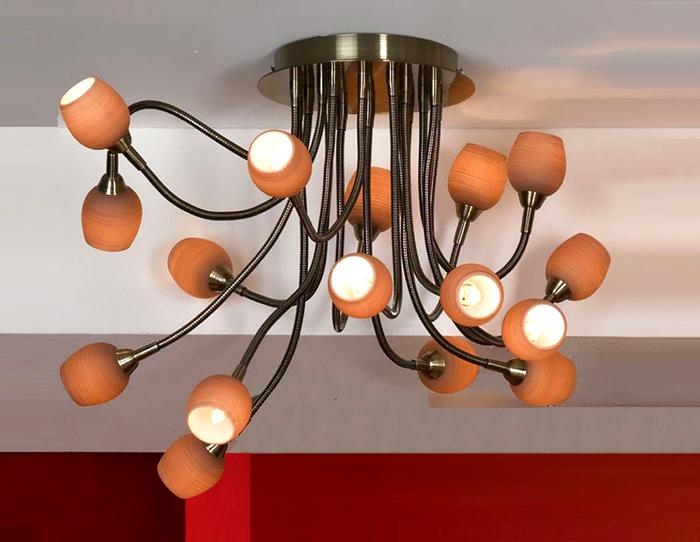 Важнейшим параметром, который обязательно учитывается при подборе устройства освещения, является сочетание дизайна изделия и окружающего интерьера