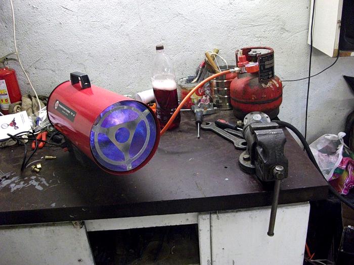 Тепловые пушки практичный способ обогрева