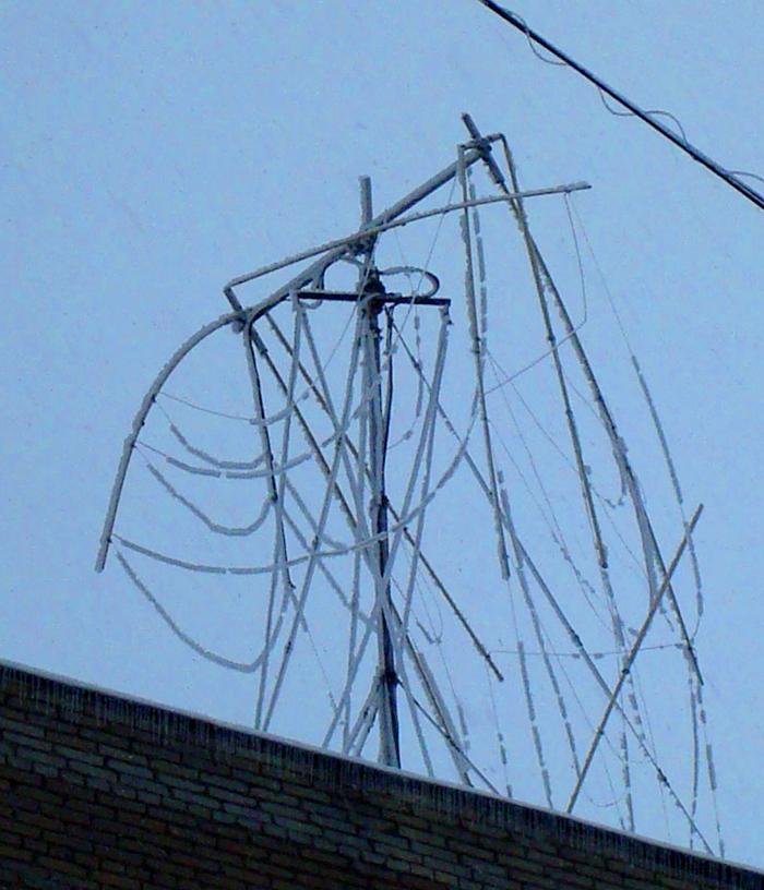 Уличная антенна для телевизора своими руками