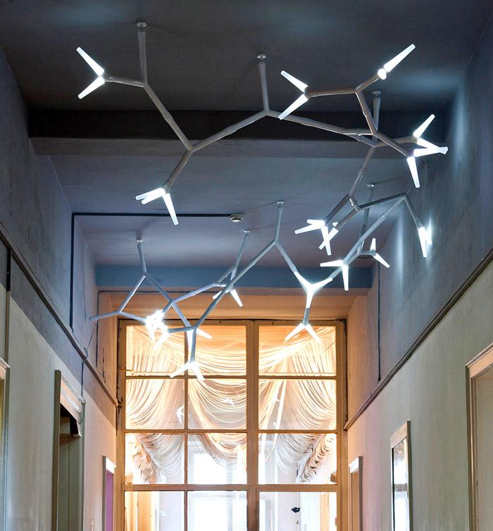Стильные потолочные люстры