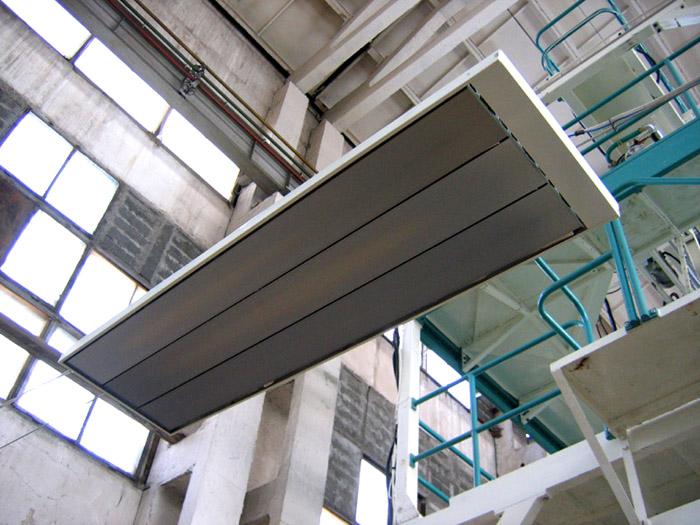 Прогрев помещения с высокими потолками
