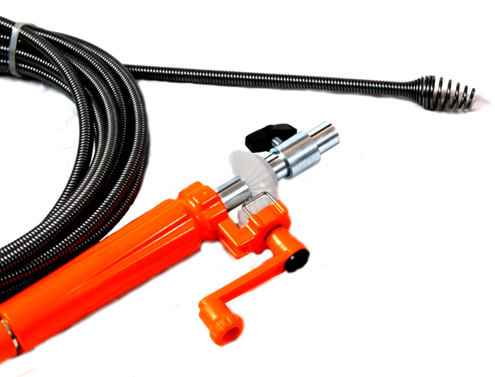 Трос для прочистки канализационных труб