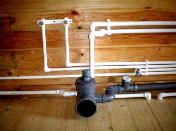 Сборка полипропиленового водопровода