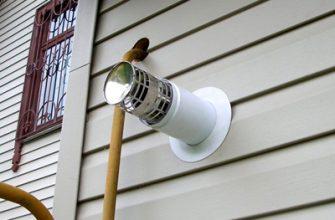 Коаксиальный дымоход для газового котла