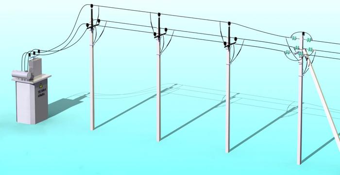 Стандартная линия электропередач