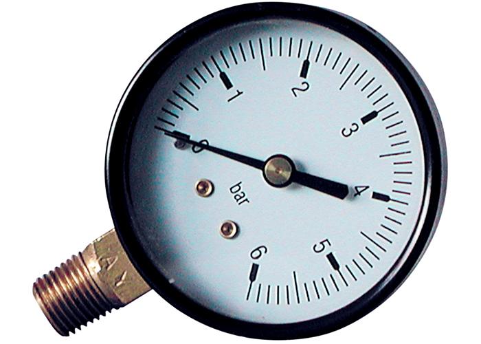 Прибор для измерения давления в трубопроводе