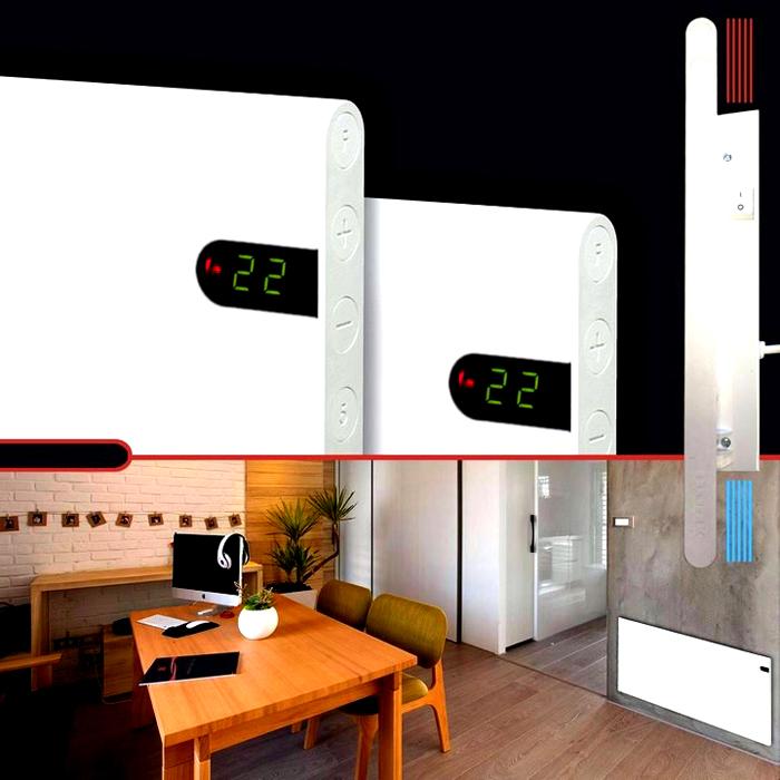 Тонкие конвекторы можно установить в нужных местах без лишних затрат. Эти приборы без дополнительных настроек поддерживают температуру на заданном уровне