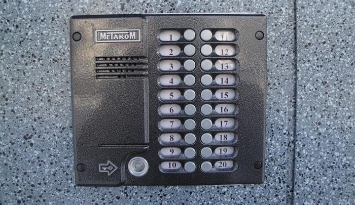 Устройство Metacom (Метаком) на двери