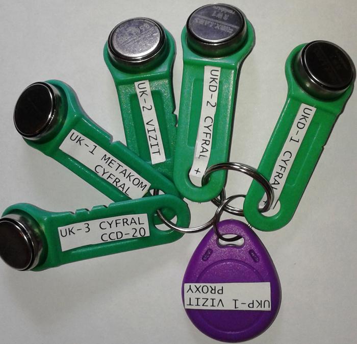 Специальные ключи, часто бывают у почтальонов